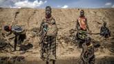 Ada dua kamp pengungsian besar di sini. Mereka yang mengungsi adalah mereka yang lari dari kerusuhan di Somalia, Sudan Selatan dan Republik Demokratik Kongo. (Luis TATO / AFP)