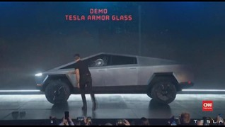 VIDEO: Kejadian 'Memalukan' di Peluncuran Truk Listrik Tesla