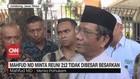 VIDEO: Mahfud MD Minta Reuni 212 Tidak Dibesar-besarkan