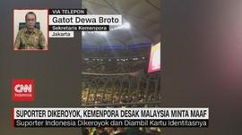 VIDEO: Kemenpora Minta Malaysia Usut Tuntas Pengeroyokan