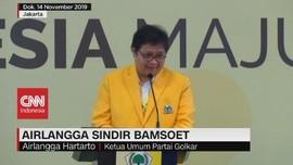 VIDEO: Maju Jadi Caketum Golkar, Airlangga Sindir Bamsoet