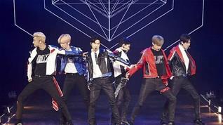 Live Streaming Aksi EXO di HUT 18 Transmedia