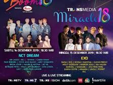 Boom, NCT Dream & EXO Bakal Meriahkan HUT Transmedia ke-18!