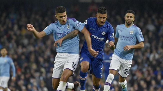 Hasil Liga Inggris Man City Kalahkan Chelsea