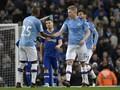 Man City Unggul 2-1 atas Chelsea di Babak Pertama