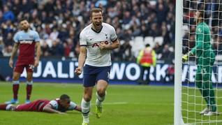 Kane Bisa Ukir Rekor di Laga Wolverhampton vs Tottenham
