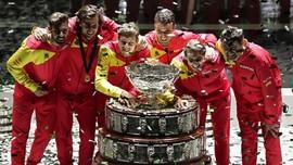 FOTO: Spanyol Juara Piala Davis 2019