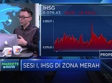 Ada Kepanikan Pasar, IHSG Kembali Terkoreksi 0,34%