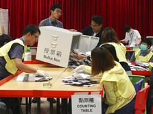 Pro Demokrasi Menangkan Pemilu Hong Kong