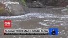 VIDEO: Sungai Arjasa Jember Tercemar Limbah Busa