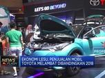 Ekonomi Lesu, Penjualan Toyota Melambat
