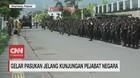 VIDEO: Gelar Pasukan Jelang Kunjungan Pejabat Negara