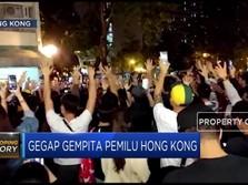 Hong Kong Bersorak Pro-Demokrasi Menang Pemilu Distrik