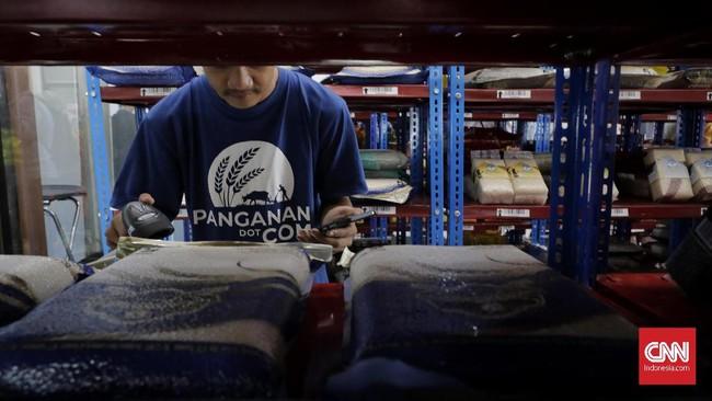 Supermall Pangan bisa diakses melalui e-commerce sehingga memudahkan masyarakat mengakses bahan pangan.