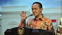 Di Depan Jokowi, Bahlil Lapor Gubernur di Kalimantan Bak Presiden