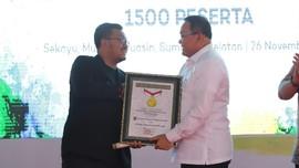 1.500 Guru Ikut Festival Diseminasi, Muba Raih Rekor Muri