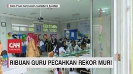 VIDEO: Program Pelatihan Ribuan Guru Pecahkan Rekor Muri