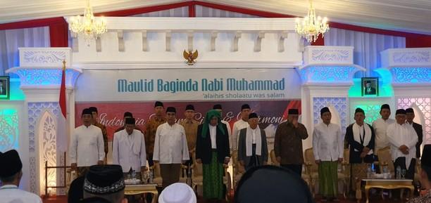 Momen Perayaan Maulid Nabi Muhammad di Yogyakarta