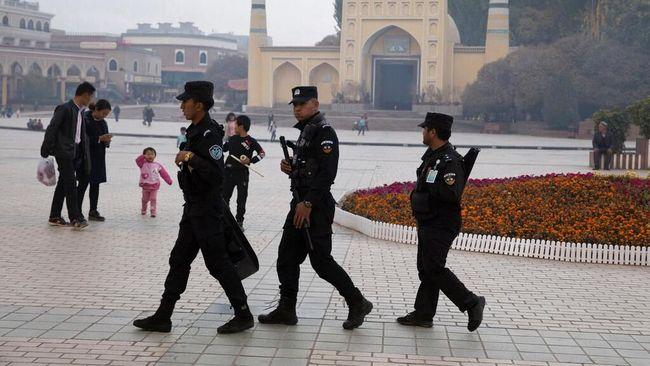 ASPI Geger China Disebut Hancurkan Ribuan Masjid Muslim Xinjiang?