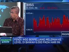 Hadapi Tekanan, IHSG Berpeluang Melemah di Bawah Level 6.000