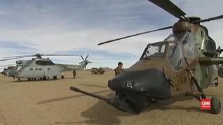 VIDEO: Dua Helikopter Kecelakaan di Mali, 13 Tentara Tewas