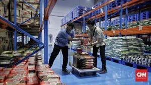 FOTO: Bulog Luncurkan Supermall Pangan