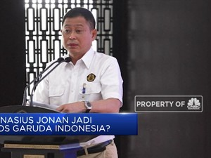 Ignasius Jonan jadi Bos Garuda Indonesia?