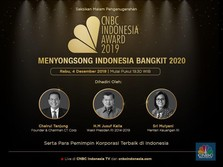 Live: CNBC Indonesia Awards 2019, Songsong Indonesia Bangkit
