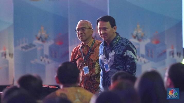Wakil Ketua Umum Partai Gerindra Arief Poyuono memprediksi Ahok akan jadi menteri Jokowi.