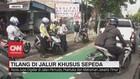 VIDEO: Polisi Mulai Tilang Pelanggar Jalur Sepeda