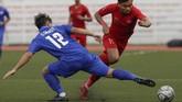Indonesia mengawali perjalanan di SEA Games 2019 dengan menghadapi Thailand. (AP Photo/Aaron Favila)