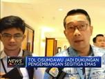 Ridwan Kamil: Pembangunan Tol Cisamdawu Tinggal 40%