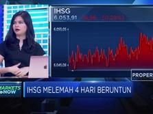 Aksi Jual Investor Asing Meningkat, IHSG Melemah 4 Hari