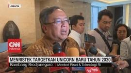 VIDEO: Menristek Targetkan Unicorn Baru Tahun 2020