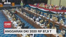 VIDEO: Anggaran DKI 2020 Rp 87,9 Triliun