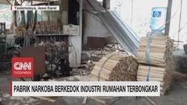 VIDEO: Pabrik Narkoba Berkedok Industri Rumahan Terbongkar