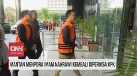 VIDEO: Imam Nahrawi Kembali Diperiksa KPK