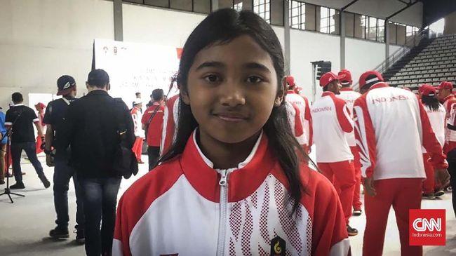 Kisah Kyandra, Atlet Cilik 10 Tahun di Kontingen SEA Games
