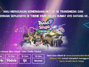 Ini Meriahnya HUT ke -18 Transmedia!