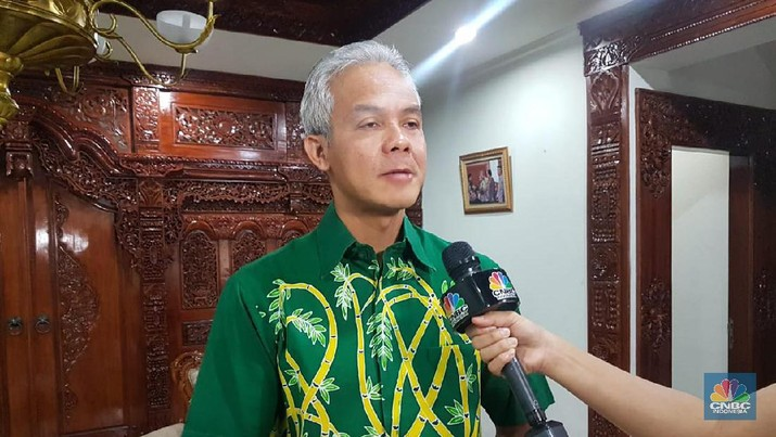 Ganjar Pranowo (Cnbc Indonesia/Shalini)