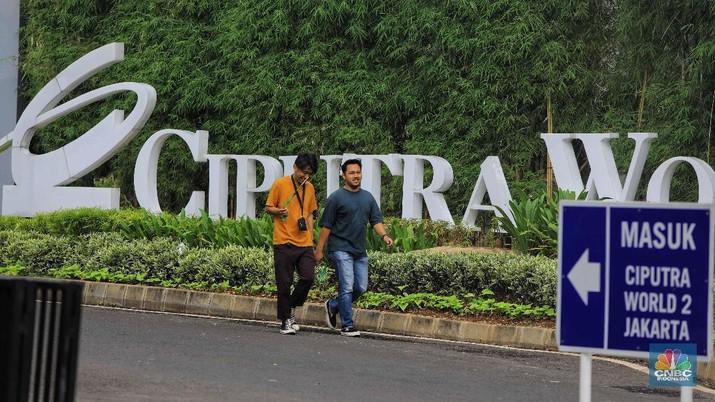 Logo Ciputra/CNBC Indonesia/ Andrean Kristianto