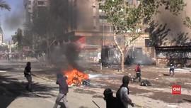 VIDEO: Aksi Unjuk Rasa di Chile, 26 Warga Tewas dan Terluka