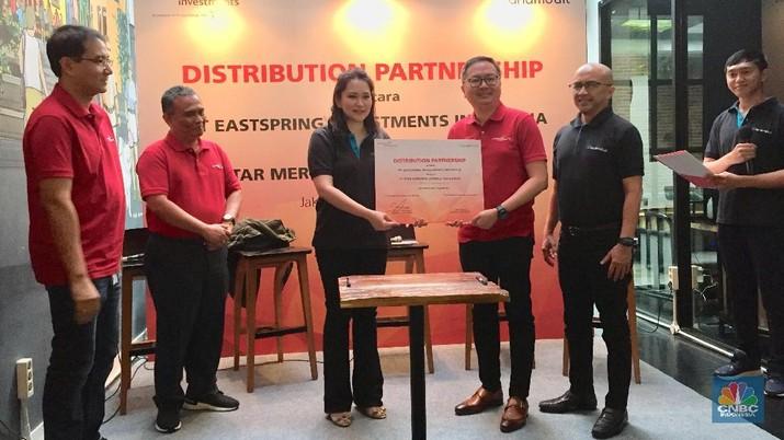 PT Eastspring Investment Indonesia bekerjasama dengan PT Star Mercato Capitale (Tanamduit).