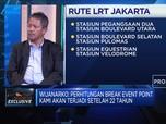LRT Jakarta Dorong Pembangunan LRT Fase II