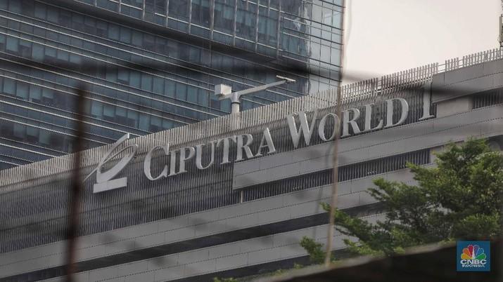Harga saham emiten properti Grup Ciputra, PT Ciputra Development Tbk (CTRA) terpantau menguat.