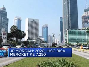JP Morgan Ramal IHSG 2020 Capai 7.250