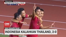 VIDEO: Egy & Osvaldo Cetak Gol, Indonesia Tekuk Thailand 2-0