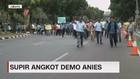 VIDEO: Puluhan Sopir Angkot Demo Anies