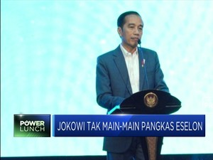 Jokowi Akan Ganti Eselon III dan IV Dengan Robot