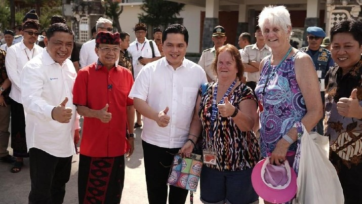Erick Thohir: Pelabuhan Benoa harus bisa menjadi Kawasan Turis Terpadu kelas dunia/Monica Wareza